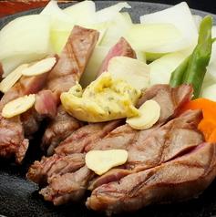 料理メニュー写真豚ステーキ 200g