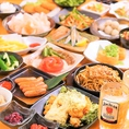 豊富な食べ飲み放題コースは各種ご宴会に最適!3000円~食べ飲み放題コースなど、他にはないオプションと内容のコースが多彩なので、ご利用シーンやご予算に合わせて最適なコースをご用意!ご宴会・飲み会はのりをにお任せ下さい☆