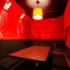 個室座敷席掘りごたつ式の6~8名様用個室席。人気のお席はご予約がおすすめです!