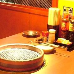 炭火で焼肉を愉しみたい方におすすめ
