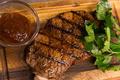 料理メニュー写真サーロインステーキのグリル(240g)
