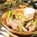料理メニュー写真人気の前菜盛り合わせ