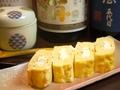 料理メニュー写真クリームチーズのだし巻き玉子