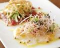 料理メニュー写真鮮魚のカルパッチョ盛合せ