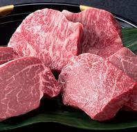 絶品【村上牛】を使用した素焼き・塩焼き。