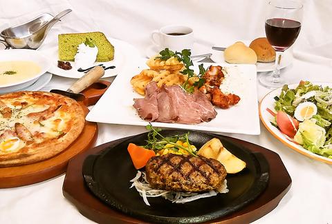 おまかせパーティープラン★ハンバーグコース  2200円(税抜)