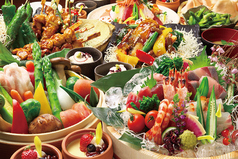 鶏と魚と野菜とMomiji もみじ 三宮のコース写真