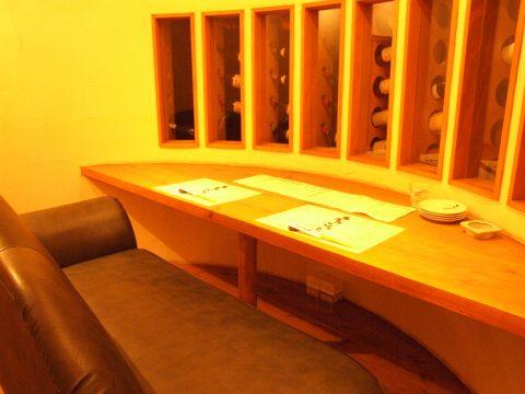 アットホームな隠れ家個室空間で本格創作和食を堪能できる!