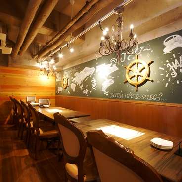 鉄板バル Jyu- ジュー 高槻市店の雰囲気1