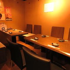 4名様テーブルを2卓ご用意しております。