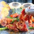 料理メニュー写真焼肉食べ放題・飲み放題コース!リーズナブルにビアガーデン♪