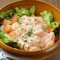 料理メニュー写真明太ポテトサラダ