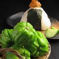 料理メニュー写真自家製神楽南蛮味噌/おにぎり(1個)