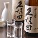 日本酒や焼酎も数多く取り揃えております。