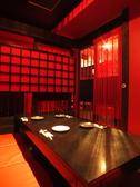 寛ぎの個室は全5室、大人コンパにも大人気