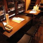 テーブル席ゆっくりと食事をお愉しみください!