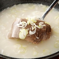 Kollabo-コラボ-では韓国を代表する20年~50年の伝統を持つ、老舗15店舗の人気メニューお楽しみ頂けます。本物の韓国の旨さを味わってみませんか?焼肉では銘柄牛のA5A4ランクと、仕入れから調理まで徹底的にこだわりぬいた、厳選食材をお楽しみください。肉宴会・歓送迎会・各種集まりに・・