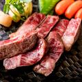 料理メニュー写真黒毛和牛のサーロインステーキ