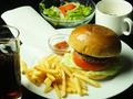 料理メニュー写真A-TRAINハンバーガー