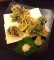 料理メニュー写真春野菜の天ぷら
