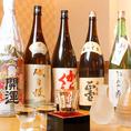 厳選した日本酒をどうぞ