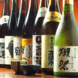 全国から厳選した日本酒取り揃え!女子にも大人気○