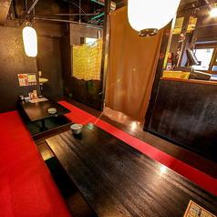 最大14名様まで入れる個室もございます!!会社の飲み会やサークルの飲み会に最適!!プライベートな空間ご宴会出来ます!!人気席ですのでお早めにご予約お願いします!!