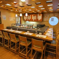 【貸切8名~対応可◎】アットホームなくつろげる空間。旬の食材と職人の技術が光る料理を堪能して下さい☆※全15席飲み会、接待、女子会に気兼ねなくご利用下さいませ♪