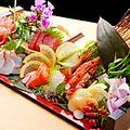 料理メニュー写真本日のお勧め鮮魚 5点造り