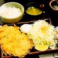 【4位】チキンカツ定食 680円