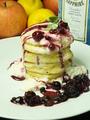 料理メニュー写真ブルーベリーパンケーキ
