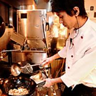中華の名店で研鑽した調理技術×独自のアイディア