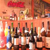 ドリンクはワインも日本酒も焼酎も種類豊富にご用意☆