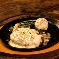 料理メニュー写真石垣牛100%チーズハンバーグ