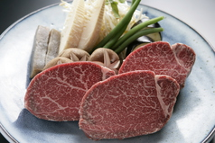 料理メニュー写真神戸牛フィレステーキ 130g(A4~5)