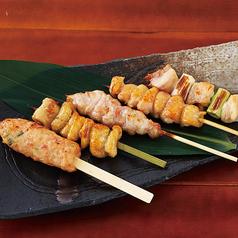 串焼き5種盛り合わせ