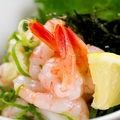 料理メニュー写真甘エビの塩ユッケ