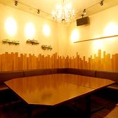 ビーチリゾート風の個室です。企業宴会に◎