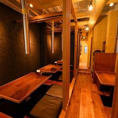 【大小個室】2名~人数に合わせた個室空間もご用意!ご予算・人数はお気軽にご相談下さい。