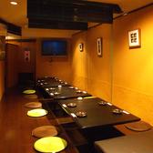 接待向き個室☆プライベート感を重視した個室は周りのお客様を気にせずお楽しみ頂けます。