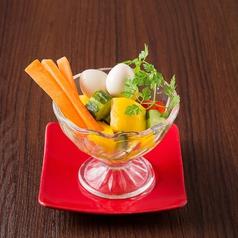 糸島野菜とピクルス