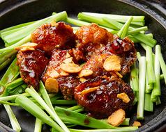 牡蠣ガーリック黒胡椒焼