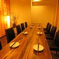 【2階◎テーブル】特別空間♪女子会や誕生日会などの特別な日に是非ご利用下さい!!8-12名様で貸切できます。