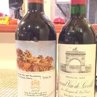 イタリアンといえばワイン♪豊富に取り揃えています!!