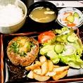 【5位】ハンバーグ定食 680円