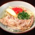 料理メニュー写真沖縄そば ソーキ