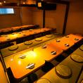 ◆団体様個室◆最大180名様までのご宴会に対応いたします大人数様で安心してご利用いただけるお部屋です♪会社の大きな御宴会、仲間内の大きな同窓会、結婚式の2次会・3次会等の大型の団体様に御愛顧頂いている、自慢の大型宴会場です。