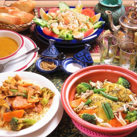 モロッコ料理 LA FETE