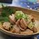 料理メニュー写真昆布と胡麻油で和えた「旨」塩キャベツ / ひな鶏の砂ずりぽん酢