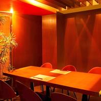 ◆人数に合わせた個室空間◆